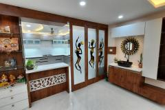 3 BHK Home Interior for Dr. Janmanjay at Zobra Square, Cuttack